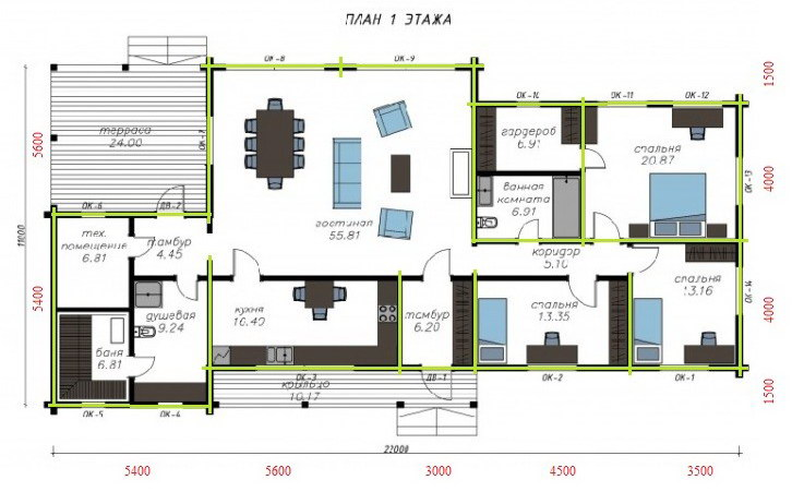 Woodmark 172 plan